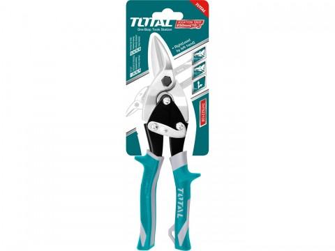 Nůžky na plech převodové, 250mm, rovné a doprava TOTAL