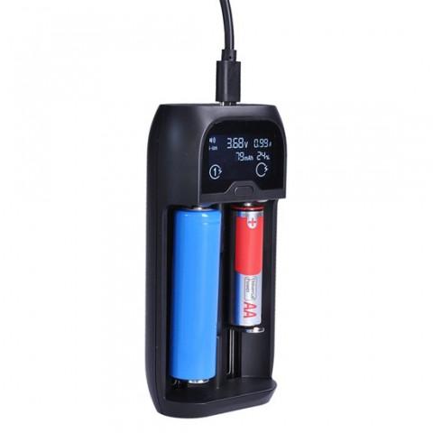 Nabíjačka batérií SOLIGHT DN27