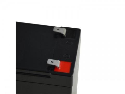 Batérie olovená 12V   7.0Ah Geti (konektor 4,75 mm)