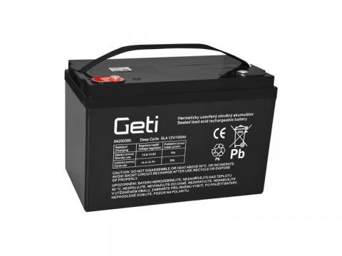 Batéria olovená 12V 100Ah Geti pre solárne systémy