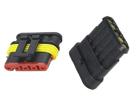 Konektor sa zdierkou DJ7051-1.5-11 + DJ7051-1.5-21 5P vodotesný