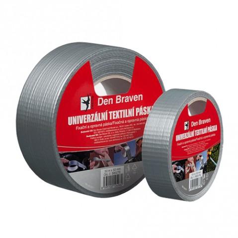 Páska textilná DEN BRAVEN univerzálna 50mm x 25m