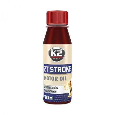 Olej K2 TEXAR 2T STROKE 100ml červený
