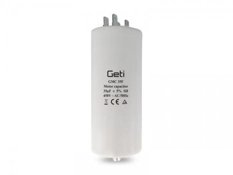 Kondenzátor rozbehový motorový 35uF 450V GETI GMC 35F