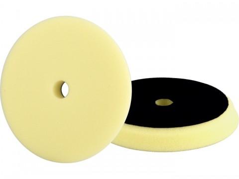 Kotouč leštící pěnový, orbitální, T80, žlutý, 150x25mm, suchý zip ?127mm EXTOL-PREMIUM