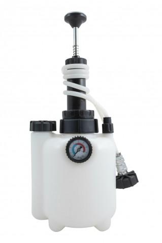 Přípravek na výměnu a odvzdušnění brzdové a spojkové kapaliny, 2,5 litru QUATROS