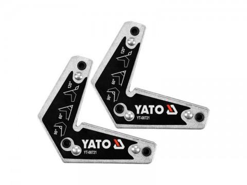 Magnetické držiaky zváračské 2ks YATO YT-08721 10kg