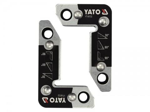 Magnetické držiaky zváračské 2ks YATO YT-08722 25kg