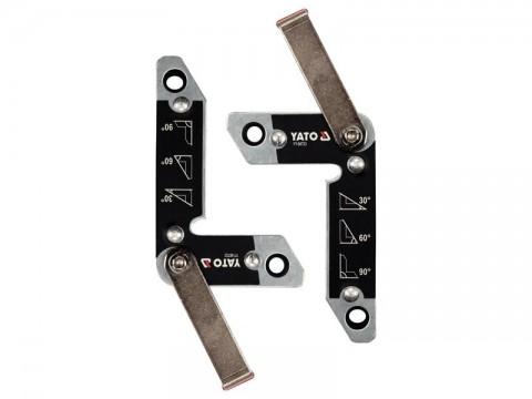 Magnetické držiaky zváračské 2ks YATO YT-08723 32kg