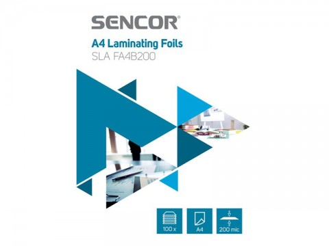 Fólie laminovacie SENCOR SLA FA4B200 A4 200mic 100ks