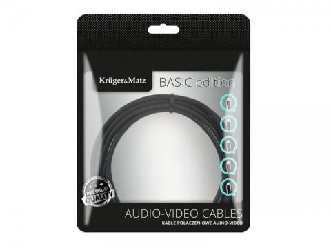 Kábel KRUGER & MATZ KM1234 USB - micro USB kábel 0,2m