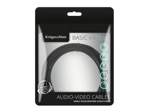Kábel KRUGER & MATZ KM1236 USB - micro USB kábel 1,8m