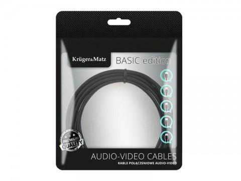 Kábel KRUGER & MATZ KM1235 USB - micro USB kábel 1m