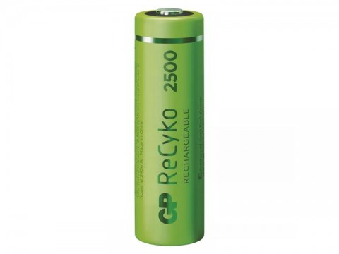 Batérie AA (R6) nabíjacie 1,2V/2450mAh GP Recyko  2ks