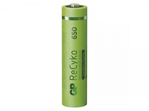 Batérie AAA (R03) nabíjacie 1,2V/650mAh GP Recyko Cordless  2ks