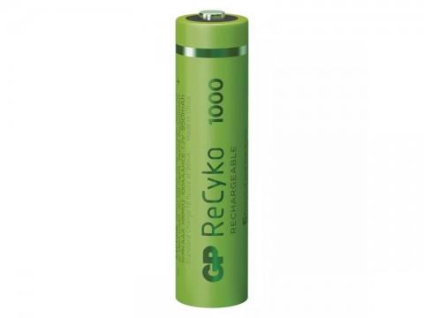 Batérie AAA (R03) nabíjacie 1,2V/950mAh GP Recyko  4ks
