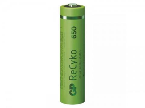 Batérie AAA (R03) nabíjacie 1,2V/650mAh GP Recyko  2ks