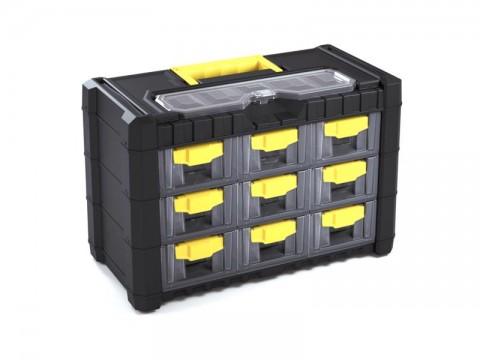 Organizér prenosný 10 priehradiek XTline P90563