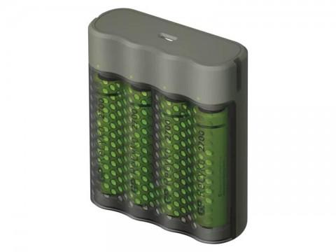 Nabíjačka batérií GP Speed M451 + 4xAA ReCyko 2700