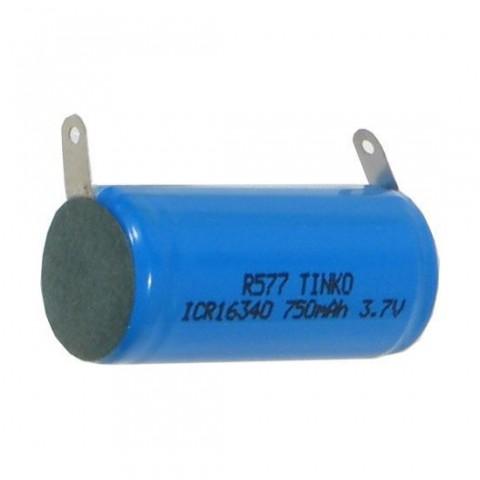 Batéria nabíjacia Li-Ion 16340 3,7V/750mAh TINKO.