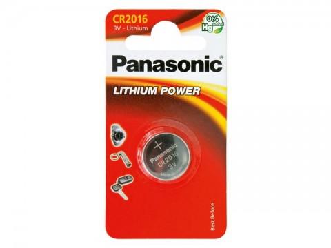Baterie    CR2016 PANASONIC lithiová 1BP