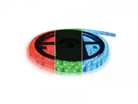 LED pásik 12V 5050  60LED/m IP20 max. 12W/m RGB (cievka 5m) Geti