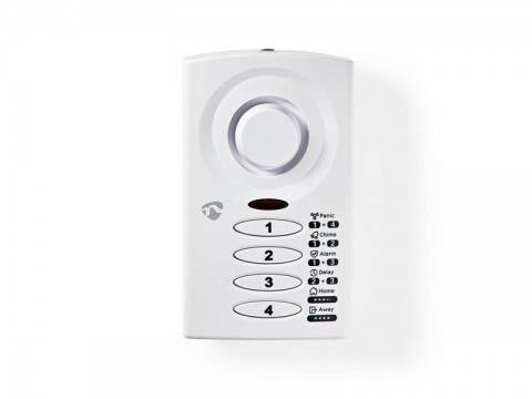 Alarm dverný/okenný NEDIS ALRMD30WT