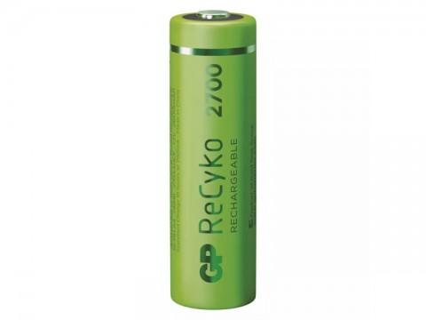Batérie AA (R6) nabíjacie 1,2V/2600mAh GP Recyko  4ks