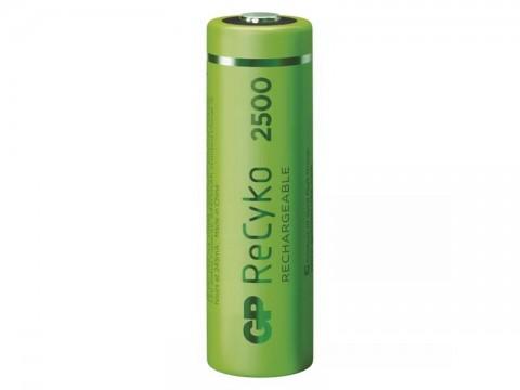Batérie AA (R6) nabíjacie 1,2V/2450mAh GP Recyko  4ks
