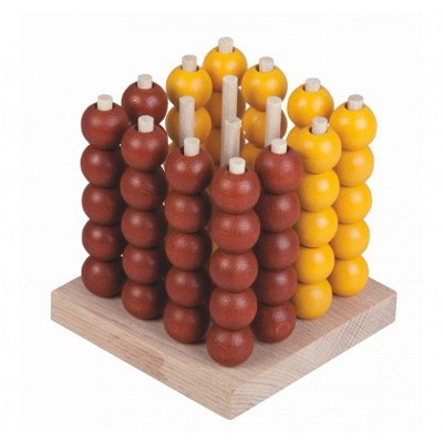 Hra stolný DETOA Piškvorky drevené