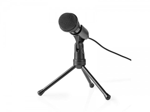 Mikrofón NEDIS MICTJ100BK so stojanom