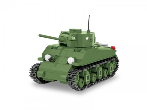 Stavebnica COBI 3063 WOT Sherman M4, 1:48, 300 k