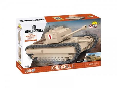 Stavebnica COBI 3064 WOT Churchill I, 1:48, 300 k