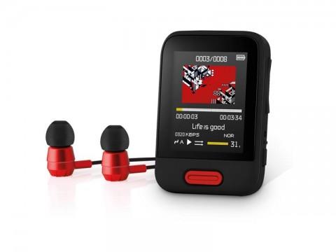 Prehrávač MP3/MP4 SENCOR SFP 7716 BK 16GB