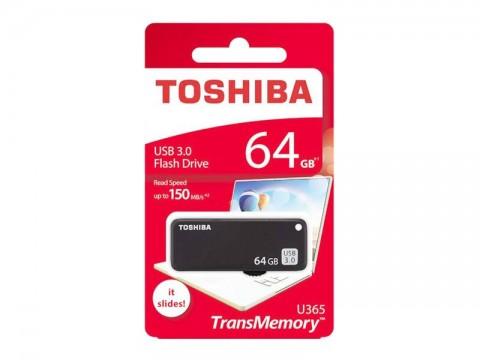 Flash disk TOSHIBA USB 3.0 Pendrive 64GB čierna