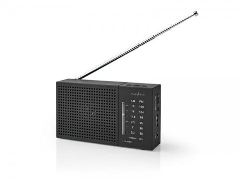 Rádio NEDIS RDFM1200BK BLACK