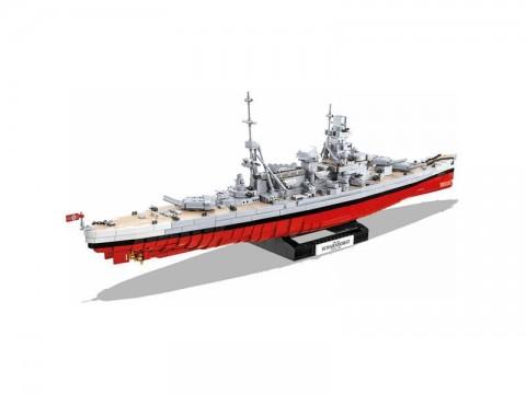 Stavebnica COBI 4818 II WW Bitevník Scharnhorst, 1:300, 2472 k