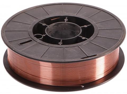 Svařovací drát, cívka, 0,8mm, 5kg - bez krabice GEKO