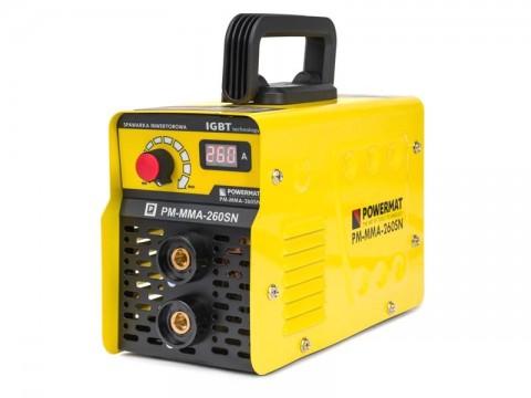 Zvárací invertor POWERMAT PM-MMA-260SN 260A IGBT
