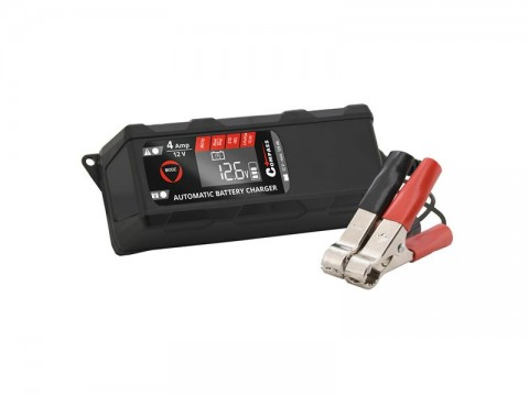 Nabíjačka akumulátorov COMPASS 07160 12V 4Amp PB/GEL/AGM/LiFePO4
