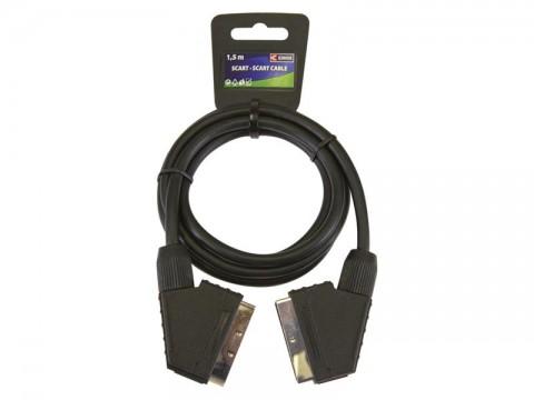Kábel EMOS SCART/SCART 21PIN 1,5 m