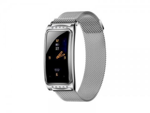 Hodinky IMMAX Crystal Fit Silver