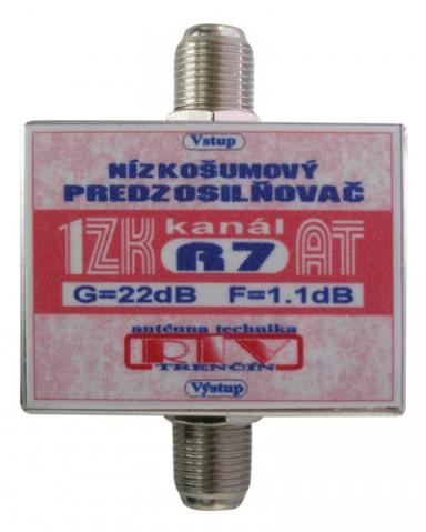 Anténní zesilovač ZK53AT 25dB  F