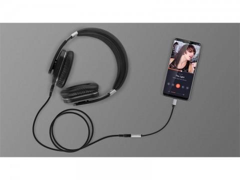 Adaptér USB-C na JACK 3,5mm (pre počúvanie hudby) KRUGER & MATZ Basic