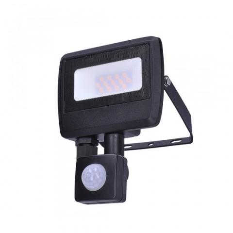 LED reflektor SOLIGHT WM-10WS-O EASY 10W PIR