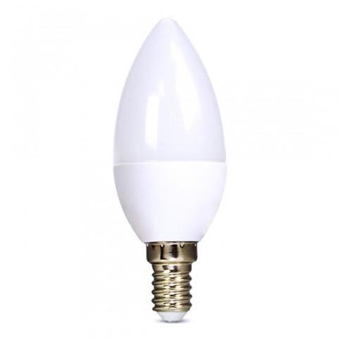 Žiarovka LED E14  6W biela studená SOLIGHT WZ421-1