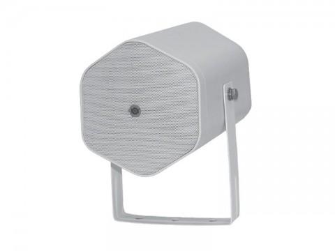 Reproduktor SHOW POJ-5W, biely, 20W / 8Ω / 70V / 100V, vonkajšia evakuačny projektor
