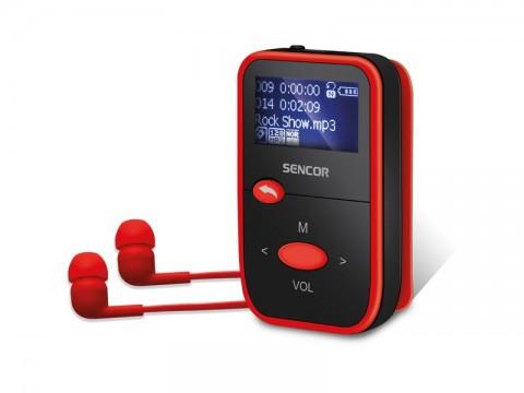 Přehrávač MP3 SENCOR SFP 4408 RD 8GB