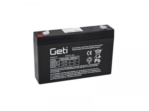 Batérie olovená 6V 7.0Ah Geti