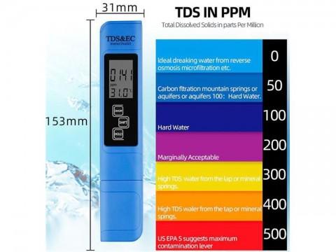 Merač vodivosti vody-TDS meter R176